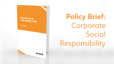 Policy Brief - Corporate Social Responsibility