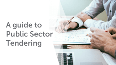 A Guide to public sector tendering infographic image